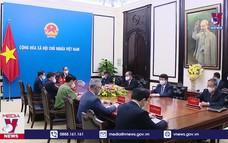Chủ tịch nước điện đàm với Tổng bí thư, Chủ tịch Trung Quốc Tập Cận Bình