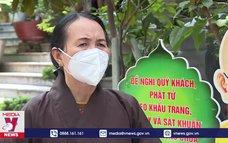 Mùa Phật đản an lành phòng chống dịch bệnh