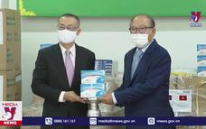 Bàn giao vật tư y tế hỗ trợ Campuchia chống dịch COVID-19