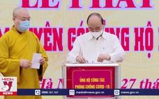 BHXH Việt Nam trao 2 tỷ đồng ủng hộ phòng chống dịch COVID-19