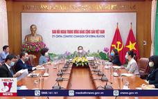 Thông báo kết quả Đại hội XIII tới bạn bè quốc tế