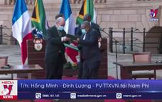 Pháp và Nam Phi cam kết hợp tác chống dịch