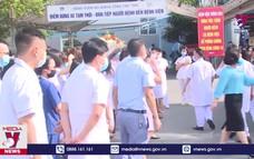 Đoàn Bác sỹ Phú Thọ hỗ trợ Bắc Ninh phòng chống dịch