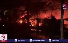 Hỏa hoạn tại Công ty sản xuất bao bì ở Bình Dương