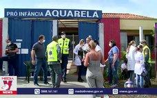 Tấn công bằng dao tại trường mẫu giáo ở Brazil