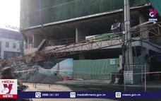 Rơi thanh cẩu tại công trường xây dựng ở Phú Yên