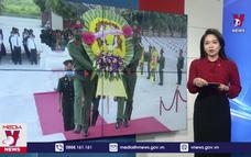 Quảng Bình truy điệu 16 hài cốt liệt sỹ hy sinh tại Lào