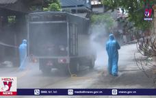 Bắc Ninh phun khử khuẩn tại các địa bàn có ca mắc COVID-19