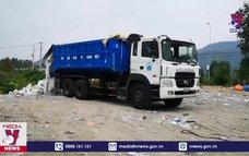 Bắt vụ đổ chất thải sinh hoạt trái phép
