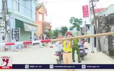 Phong tỏa 5 thôn tại thị xã Hoàng Mai, Nghệ An