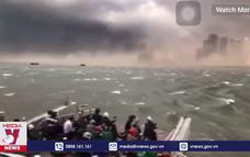 Khoảng 400 ngôi nhà ở Campuchia bị phá hủy do gió mạnh