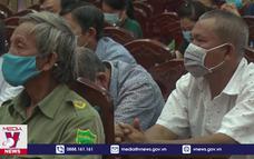 Các ứng cử viên vận động bầu cử tại Hậu Giang