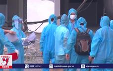 Bệnh viện dã chiến Bạch Mai cơ sở Hà Nam tiếp nhận các bệnh nhân COVID-19