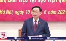 Chủ tịch Quốc hội đề nghị đẩy nhanh tiến độ nghiên cứu Vaccine