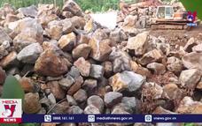 Công khai phá rừng để khai thác đá ở Đồng Nai
