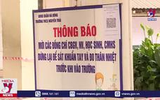 Những tình huống bị đình chỉ, hủy bài thi vào lớp 10 ở Hà Nội