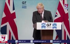 """Anh khẳng định cam kết của G7 là """"bước tiến lớn"""""""