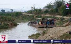 Lâm Đồng chấn chỉnh doanh nghiệp khai thác cát trên sông Đa Nhim