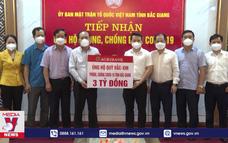 Muôn tấm lòng hướng về tâm dịch Bắc Giang