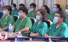 Bắc Giang chia tay đoàn y bác sỹ Quảng Ninh