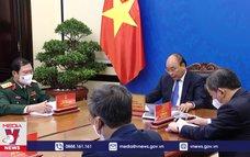 Chủ tịch nước điện đàm với Tổng Thư ký Liên hợp quốc