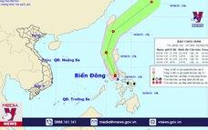 Xuất hiện bão Choi-wan giật cấp 10 gần Biển Đông