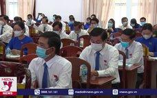 Kỳ họp thứ nhất HĐND tỉnh Hậu Giang nhiệm kỳ 2021-2026