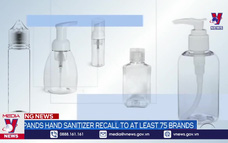 FDA Mỹ cảnh báo về tác dụng phụ của dung dịch rửa tay khô