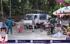 Tạm dừng hoạt động Chợ đầu mối lớn nhất Nghệ An