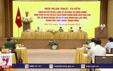 Tiếp tục đẩy mạnh cải cách thủ tục hành chính