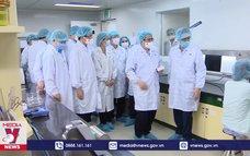 Thủ tướng làm việc với Công ty TNHH MTV Vaccine và Sinh phẩm số 1