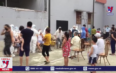 Huyện Yên Mỹ (Hưng Yên) thực hiện giãn cách xã hội theo Chỉ thị 16