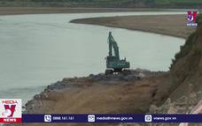 Khẩn cấp khắc phục tình trạng sạt lở bờ sông Lô