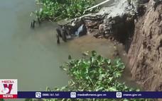 Ban bố khẩn cấp sạt lở sông Ông Chưởng