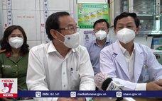 Bí thư Thành ủy TP.HCM đếnthăm Bệnh viện Chợ Rẫy