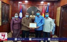 Lào tiếp tục hỗ trợ Việt Nam chống dịch COVID-19