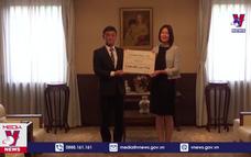 Ngân hàng Aozora Nhật Bản ủng hộ Quỹ vaccine Việt Nam