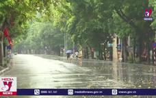 Miền Bắc đón 2 đợt mưa dông liên tiếp