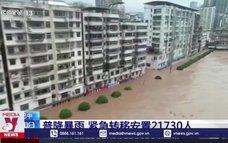 Lũ lụt nghiêm trọng tại Tây Nam Trung Quốc