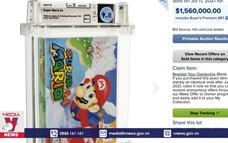 Băng video game Super Mario 64 được bán với giá kỷ lục