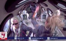 Tỷ phú Richard Branson hoàn thành chuyến bay vào vũ trụ
