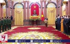 Trao quyết định thăng quân hàm đối với hai lãnh đạo Bộ Quốc phòng