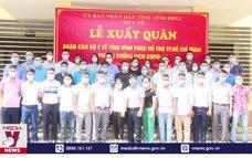 Vĩnh Phúc cử 40 y, bác sĩ hỗ trợ TP Hồ Chí Minh chống dịch
