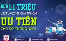 1,1 triệu liều vaccine của TP.HCM, ưu tiên cho đối tượng nào?