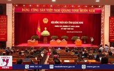 Kỳ họp thứ 2 Hội đồng nhân dân tỉnh Quảng Ninh