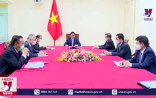 Thủ tướng Chính phủ Phạm Minh Chính điện đàm với Tổng thống Philippines