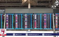 Lưu lượng hàng không của Thái Lan giảm mạnh