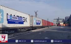 Đoàn tàu container đầu tiên chạy thẳng Việt Nam - Bỉ