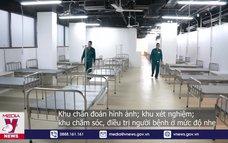 Đưa vào hoạt động bệnh viện dã chiến số 5 ở Thuận Kiều Plaza