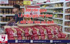 Hàng hóa thiết yếu tại Đà Nẵng dồi dào